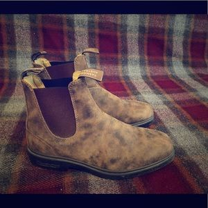 Blundstone Chelsea Boot in Rustic Brown
